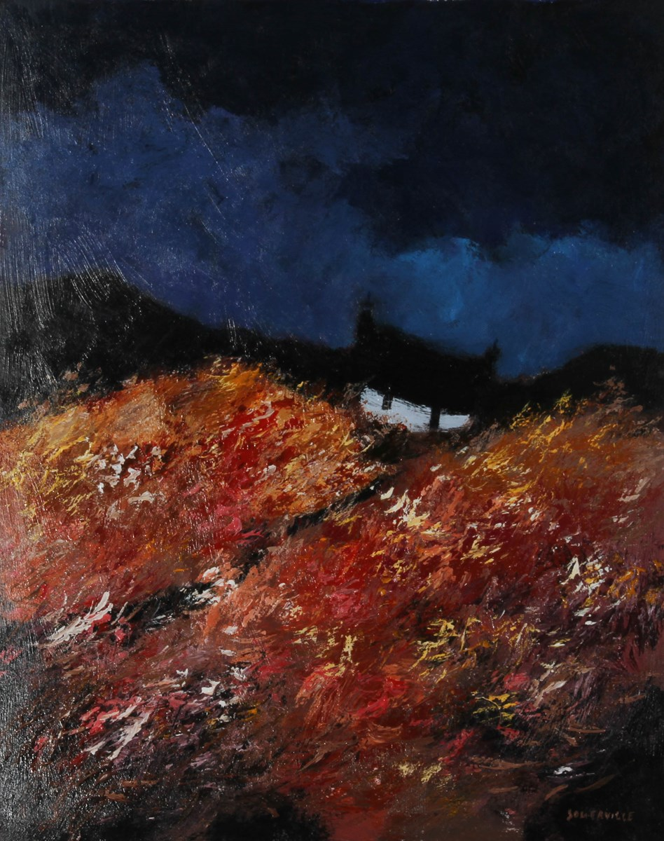 The Wild Place by george somerville - Original on Board sized 20x24 inches. Available from Whitewall Galleries